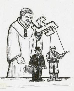 Image result for evil priests medieval